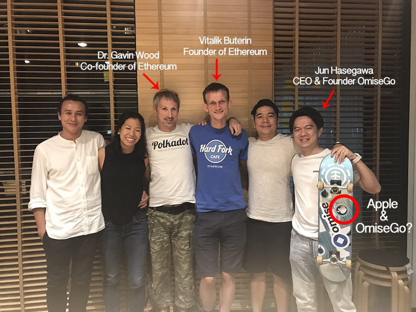 OmiseGo and Apple samenwerking