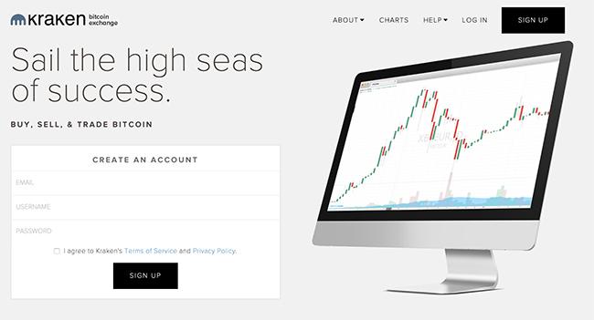 Kraken.com account aanmaken