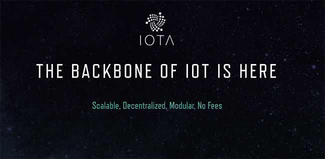 IOTA (MIOTA) cryptocurrency